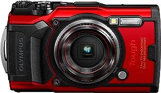 Olympus Tough TG-6 防水照相机V104210RU000  底部 红色