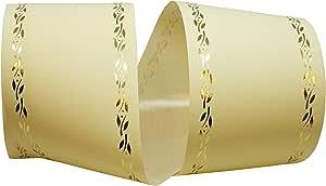 Reliant Ribbon 16009-725-40W 仪式永恒 Rd 丝带,奶油色