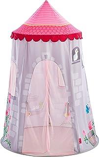 Haba 304209 – 童话塔儿童房帐篷带屋顶和窗帘,推荐3岁
