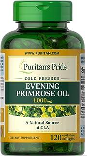 Puritans Pride Evening Primrose Oil 1000 Mg With Gla, 120 Count
