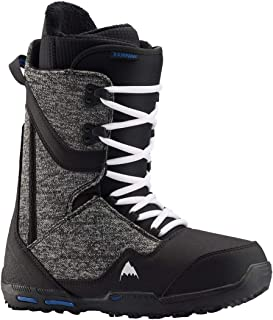 Burton 男式 Rampant 滑雪靴,黑色/蓝色,7.0