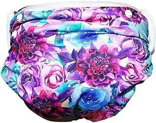 Will & Fox 可重复使用游泳尿布(2 件装)可调节非一次性游泳尿布,适合女孩或男孩