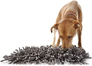 PAW5:羊毛舒适垫 - 狗狗喂食垫(30.48 厘米 x 45.72 厘米) - 鼓励天然进食技巧 - 易于填充 - 趣味设计 - 耐用,可机洗 - 适合任何犬种