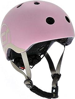 Scoot & Ride 儿童头盔带可调节带子,LED *灯和无夹磁钢扣