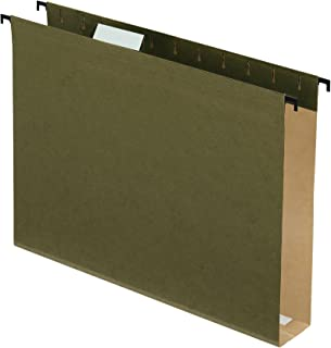 Pendaflex SureHook 额外容量加固悬挂文件夹, Letter 标准绿色