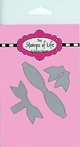 小蝴蝶结模切卡片制作和剪贴簿用品 The Stamps of Life 出品