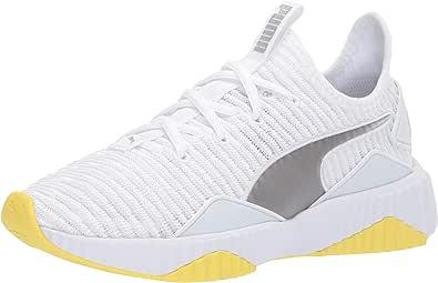 PUMA 女士 Defy 运动鞋 Puma White-blazing Grey 10 M US