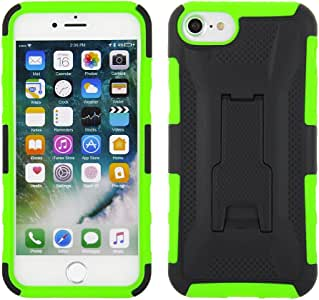 Apple iPhone 8/7/6s/6 魔方手机壳IPHONE8-7-6-KSNAPCOMBO-AZHL3-GRBK Black PC Cover with Green TPU Case