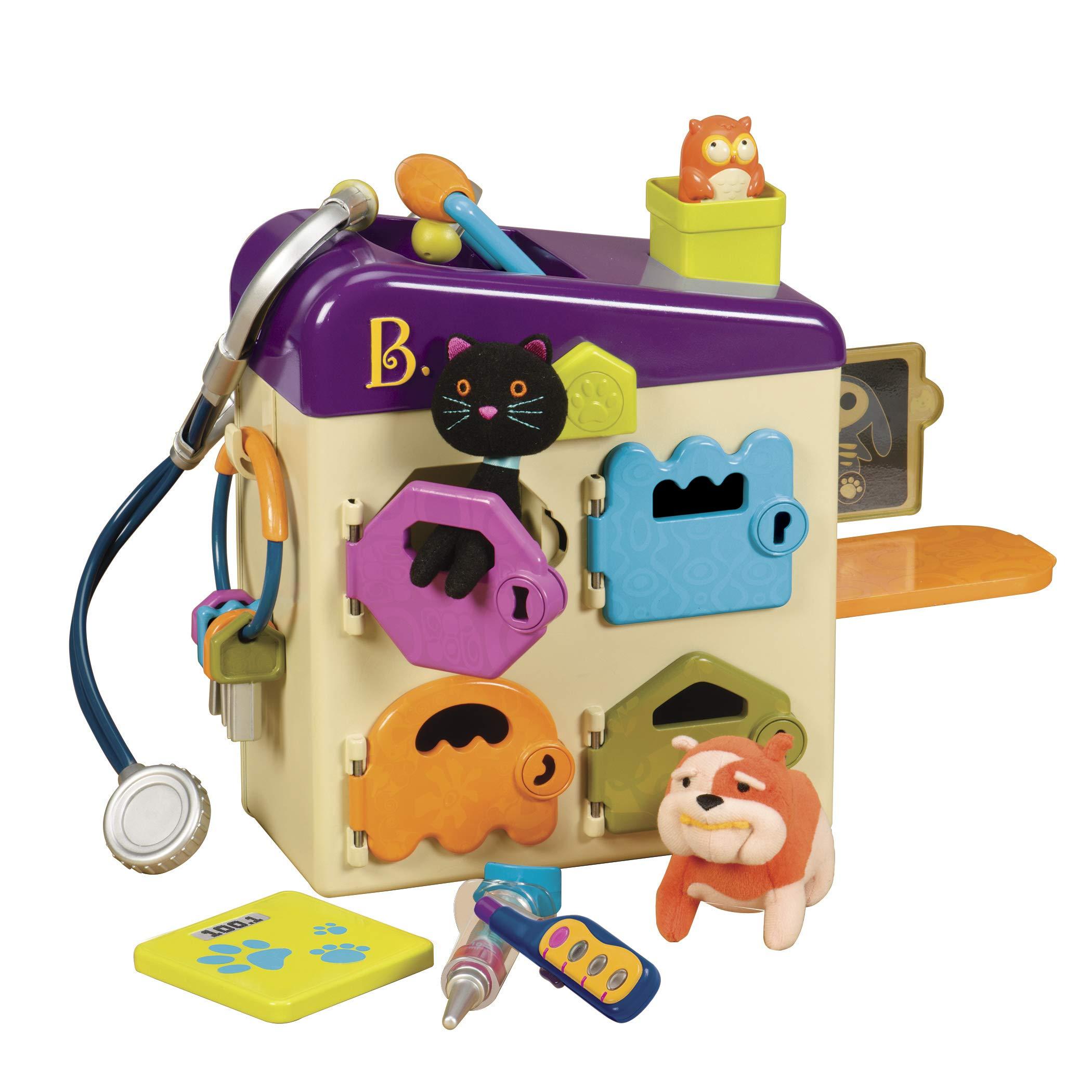 B.Toys 宠物诊所儿童玩具套装 过家家游戏 (8件)