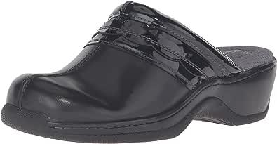 Softwalk 女式艾比洞洞鞋 黑色 5 B(M) US