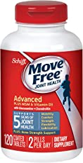 Schiff Move Free 维骨力Advanced Plus二甲基砜维生素 D3 120粒(适用:成人)