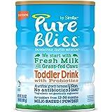 Similac 雅培 Pure Bliss 幼儿益生菌奶粉,源自食草奶牛的新鲜牛奶,一个月供应量,31.8盎司(900g)(4罐装)