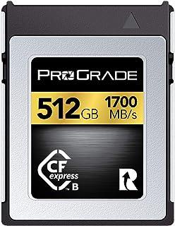 ProGrade 数字CFexpress B类存储卡(金色) 256GB