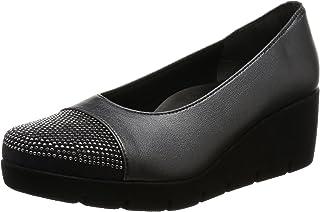 [一段式隐形] 日本制造 美腿 休闲浅口鞋 女士 厚底 IM39606