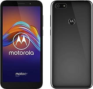 moto e6 play 双卡智能手机(5.5英寸HD+大显示屏,13 MP双摄像头,32GB/2GB,Android 9),煤灰色