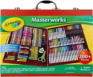 Crayola 繪兒樂 藝術名作禮盒 200 多件畫筆套裝 送給孩子的禮物 (亞馬遜特別版)