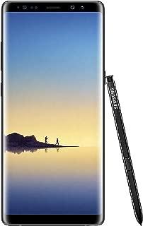 Samsung Galaxy Note8 N950F 4G LTE Samsung 解锁版适用于全球所有 GSM 运营商N950F 64 GB 午夜黑