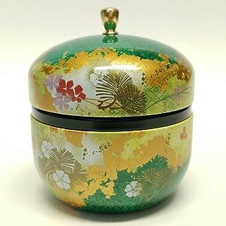 日本茶罐锡铃木/双盖/密封/3.5 盎司 (150g) 绿茶 *
