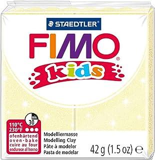 Fimo Kids 42g Block Pearl Yellow