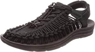 KEEN Men's UNEEK Sandal, Black/Black, 8 M US