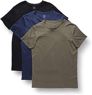 Diesel 男式 Umtee-Jake 三口袋圆领 T 恤 Black/Green/Blue Large