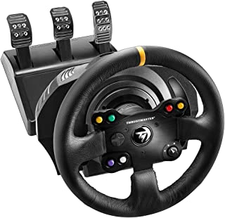 THRUSTMASTER 4468007 TX 赛车轮皮革版英国 - (游戏控制器)