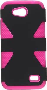 HR Wireless ZTE Speed - Dynamic Cover - Retail Packaging - Black/Hot Pink