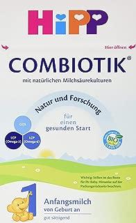 Hipp 喜宝 Bio Combiotik 1段初始奶粉 适合新生儿宝宝 4件装(4 x 600克)