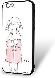 caho 保护套玻璃印花 Tpu 外套和少女手机壳适用所有机型 コートと少女C 1_ iPhone6s