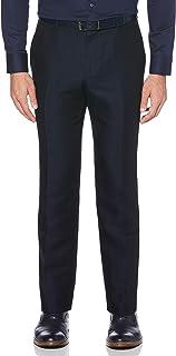 Perry Ellis 男士标准亚麻西裤