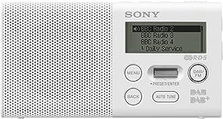 Sony 索尼 Pocket DAB / DAB Plus收音机——白色