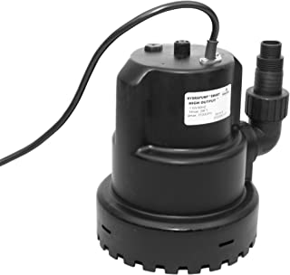 HydraPump 智能高输出 - 水泵采用 HydraSense 技术,可自动操作