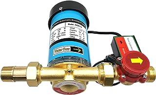 ZHKUO 120W 水压增压泵 2.54 厘米插座自动淋浴增压泵,带水流开关,适用于家庭/淋浴