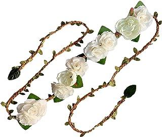 花朵 藤条腰带 花朵腰带 皇冠 花环 头带 花环 花环 JW66