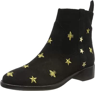 Melvin & Hamilton 女士 Lizzy 5 短靴,黑色 (Black Lima Split), 35 EU