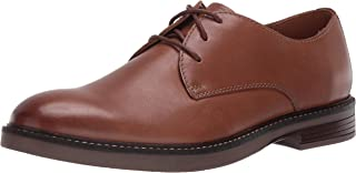 Clarks 男式 Paulson Plain 牛津鞋