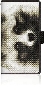 CaseMarket 【翻盖式】 Galaxy J ( F ) 超薄壳针脚模型 [ CaseMarket Zoo I Love Animals .–ホンド 貉子 ] SC-02°F vcm2s2572Samsung