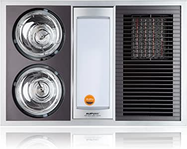 AUPU奥普纯平灯暖+风暖型浴霸 HDP1021C(亚马逊自营商品, 由供应商配送)
