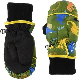 TAKIHIO 防寒手套 333560929 男童 恐龙绿 日本 5-6 (日本サイズ110相当)