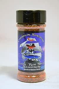 RetailSource Caribbean Sensation Cuban Rum Spice Seasoning,4 盎司,12 片