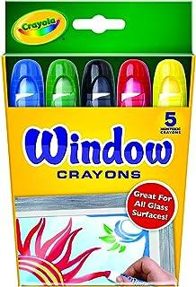 Crayola 绘儿乐 5色橱窗玻璃装饰画蜡笔 52-9765