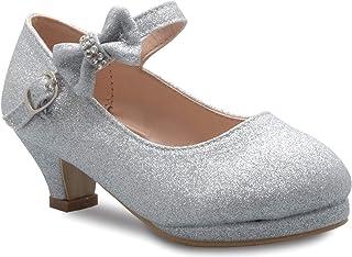 OLIVIA K 女士封闭式堆叠粗跟及踝短靴 - 一脚蹬式剪裁带扣