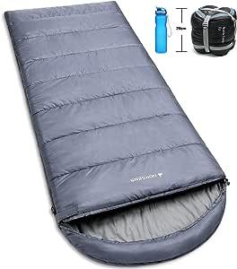 NORSENS 徒步野营徒步睡袋轻便/超轻紧凑,0 度防寒成人睡袋