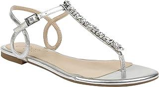 Badgley Mischka 女士 Natalie 平底凉鞋