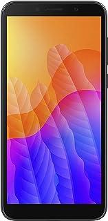 Huawei 华为 FullView 和 HD+ 显示屏 露滴显示智能手机 Y5p 黑色