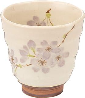 美浓烧 轻巧器 京樱 茶杯 紫 W20049