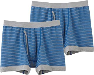 [郡是] 四角内裤 椰子麻 前开口 2件装