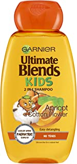 Garnier Ultimate Blends Kids Apricot No Tears 洗发水 250ml 6 瓶装