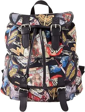 神奇女侠飞行员海报背包背包