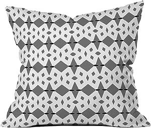 DENY Designs Lisa Argyropoulos Hype Throw Pillow, 18 x 18